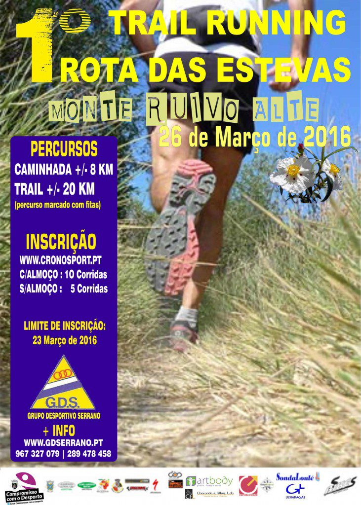 Cartaz 1º Trail Running