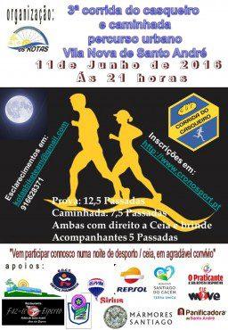 3ª Corrida do Casqueiro e Caminhada Vila Nova de Santo André