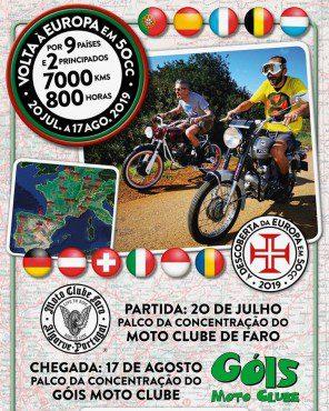 (Português) Volta à Europa em 50 CC
