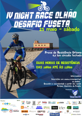 IV Night Race Olhão – Desafio Fuseta