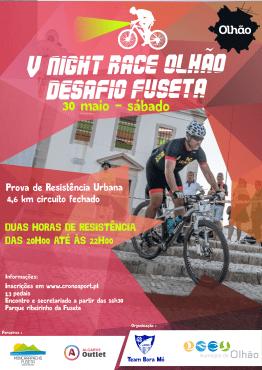 (Português) V Night Race Olhão –  Desafio Fuseta